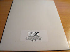 HELLBOY ANIMATED SWORDS OF STORMS, DEMONS UNLEASHED UNCUT SHEET 94/99