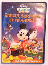 DVD WALT DISNEY / LA MAISON DE MICKEY INDICES SURPRISES ET FRIANDISES