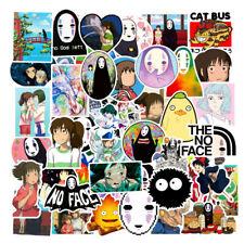 50pcs Spirited Away Decal Stickers Label Studio Ghibli Cartoon Japanese Anime