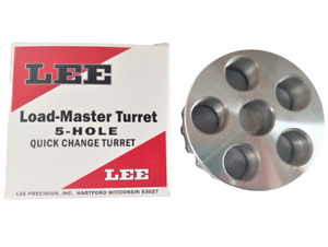 Lee 5 HOLE TURRET Quick Change Load Master -90079-  NEW