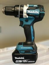 "New Makita 1/2"" Brushless Cordless Hammer Drill XPH12Z 18V LXT + (1) 4.0AH Batt"