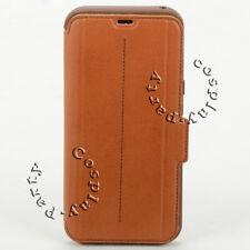 OtterBox STRADA Leather Wallet Folio Samsung Galaxy S8+ Plus Case (Brown) NEW