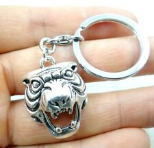 30*22MM Hand-carved tiger alloy Crafts, Key Chain, Key Ring Lover Gift A4
