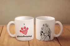 """Bluthund - ein Becher """"I love"""" Subli Dog, CH"""