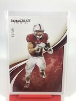 2020 Panini Immaculate Christian Mccaffrey SP Number To /49