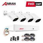 5MP Home Security Camera System CCTV Outdoor With 2TB Hard Drive 8CH DVR Kits