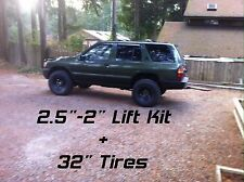 "For Nissan Pathfinder (Terrano) / Infiniti QX4 2.5""-2"" Lift Kit (R50 Platform)."