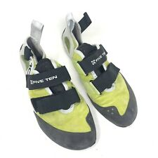 Five Ten climbing shoes 5.10 Stealth c4 Gambit size Us 9.5 Green Black Ivory