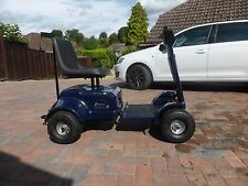 Highlander 4 single seat ride on golf Buggy by Pattersons with uprated batteries