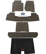 2015-2018 GMC Yukon XL Complete Premium All Weather Floor Mat Pkg Dune OEM GM