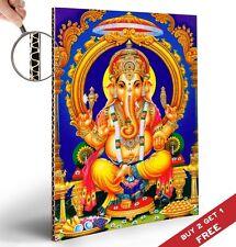 GANESHA - LORD GANESH - ELEPHANT HEADED INDIAN GOD Poster 30x21cm Home Art Print