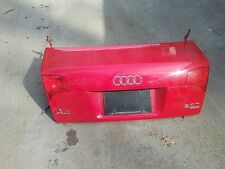05 06 07 08 B7 Audi A4 Sedan Trunk Lid Lift Gate With Taillights OEM Silver USED