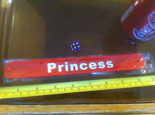 Princess Red Snap Bracelet High Quality Fold Plastic Wristband