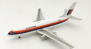 1:200 INF200 N9030U United Airlines Boeing 737-222 with stand
