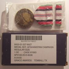 Afghanistan Campaign Service Medal Set in Box