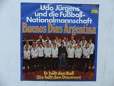 UDO JURGENS FUSSBALL NATIONALMANNSCHAFT Buenos dias Argentina Football 11888 AT