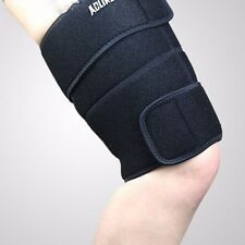 ADJUSTABLE THIGH Groin SUPPORT ONE SIZE COMPRESSION HAMSTRING BRACE WRAP QUAD