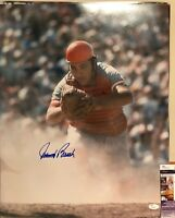 JOHNNY BENCH Signed Autograph Auto 16x20 Photo Picture Cincinnati Reds JSA COA