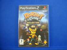 ps2 RATCHET & And CLANK Size Matters PAL UK Version