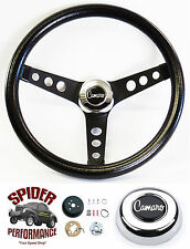"1969-1994 Camaro steering wheel CAMARO CLASSIC BLACK 13 1/2"" steering wheel"