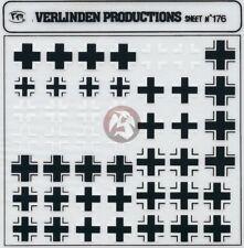 Verlinden 1/72 Luftwaffe Insignia No.1 Balkenkreuz Iron Cross Markings WWII 176