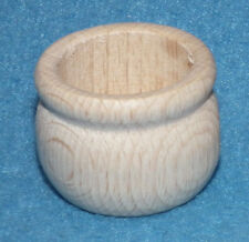 Kerzenlichthalter rund Kerzenhalter aus Buche Innen 21 mm Tafelkerze Tülle Holz