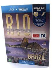 Rio De Janeiro Brazil 4K UHD Impressions Bluray Set UHD Stick Region Free