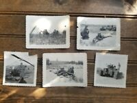 5 Korean War Photos Korea Photographs Military, Weapon, Helicopter, Army Truck