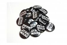 Star Wars Logo Pin Button Badges Sci-Fi Comic-Convention Pinback NEW 1.25 inch
