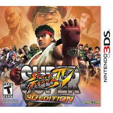 Super Street Fighter IV 4  Nintendo 3DS Game