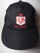 Vintage 1990s BR DODGE RAM Design Systems ST. LOUIS Advertising Snapback Hat Cap