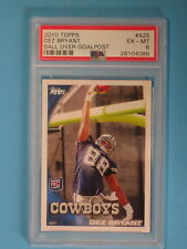 2010 TOPPS DEZ BRYANT GOALPOST VARIATION ROOKIE CARD Dallas Cowboys PSA GRADED