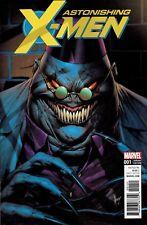ASTONISHING X-MEN #1 KEOWN VILLAIN 1:25 INCENTIVE VARIANT COVER