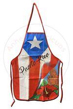 New listing Puerto Rico Bandera Set de Cocina Apron, Oven Mitt, Pot Holder 3pcs