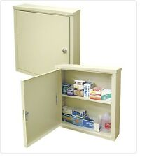 Omnimed Beam Locking Wall Mount Medication/Med Storage Cabinet 291619 Beige NEW