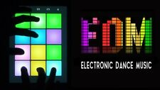 EDM Drum Sound Kit House Samples Dance Dubstep Electro Techno DnB Electronica