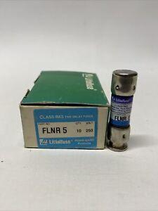 NEW Littlefuse FLNR 5 (Box of 10) Fuses