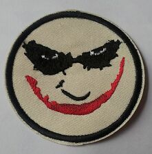 The Joker embroidered patch