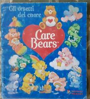 ALBUM FIGURINE STICKERS CARE BEARS ANNI 80,GLI ORSETTI DEL CUORE popples,wuzzles