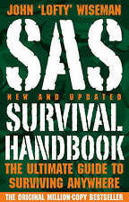 SAS SURVIVAL HANDBOOK - Latest Edition - Emergency Survival Camping Gear Gift