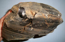 """#38G """"WHOLESALE PRICE"""" ROUGH OBSIDIAN GEMSTONE SPECIMEN FROM SOUTHERN CALIFORNIA"""