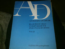 Antonin Dvorak Supraphon Vol 2 piano Op. 56, 12, 98, 101, 28, 41 Eklogy b 109,