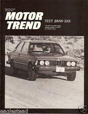 Auto Brochure - BMW - 320i - Motor Trend Test - 1977 (AB44)