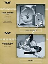 1945 Heuer Watch Co Omega Jaeger-LeCoultre Angelus Reconvilier Swiss Watch Fair