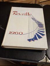 1960 COLLEGE YEARBOOK, REVEILLE, ARLINGTON STATE COLLEGE, ARLINGTON, TX