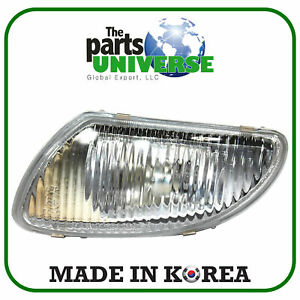 Front Fog Light Left Fits Chevrolet Daewoo Tacuma Rezzo Vivant 96260530