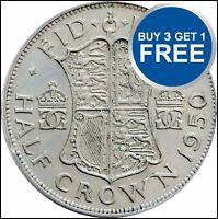 HALF CROWN 99P GEORGE VI CHOOSE YOUR DATE 1947-1951 FREE P&P