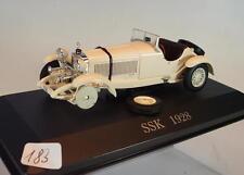IXO ALTAYA 1/43 Mercedes benz ssk blanc (1928) en plexi-Box #183