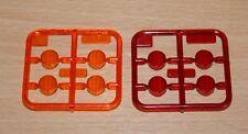 Tamiya 56319 3 Axle Reefer Trailer, 9115214/1911524 S Parts (Red & Orange), NEW