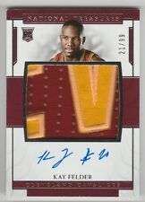 2016/17 PANINI NATIONAL TREASURES KAY FELDER RC ROOKIE PATCH AUTO G/W RPA 21/99